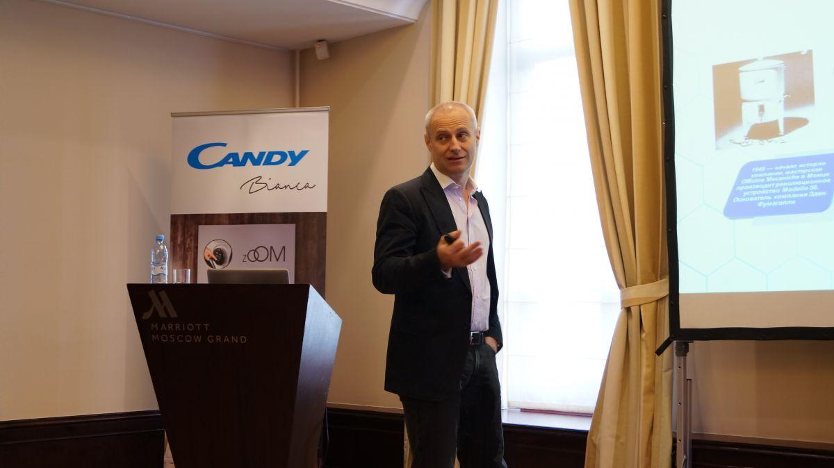 Генеральный директор представительства Candy Hoover Group в России Глеб Мишин