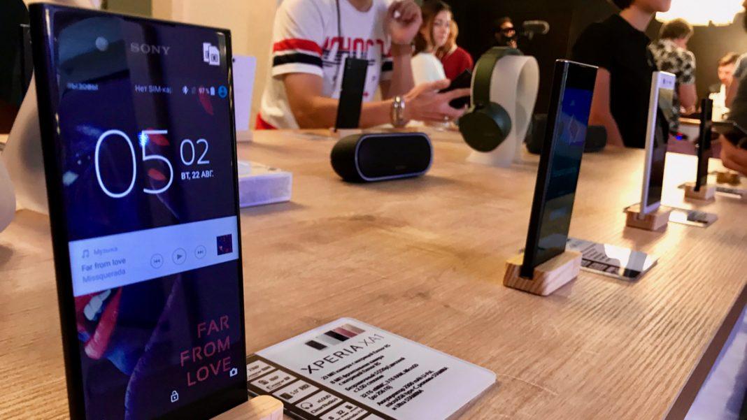 Sony Xperia XZ1 и Xperia XZ1 Compact: первый взгляд