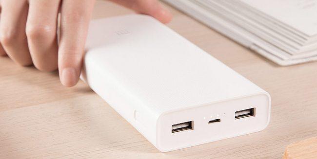 Xiaomi представила внешний аккумулятор с двухсторонней быстрой зарядкой
