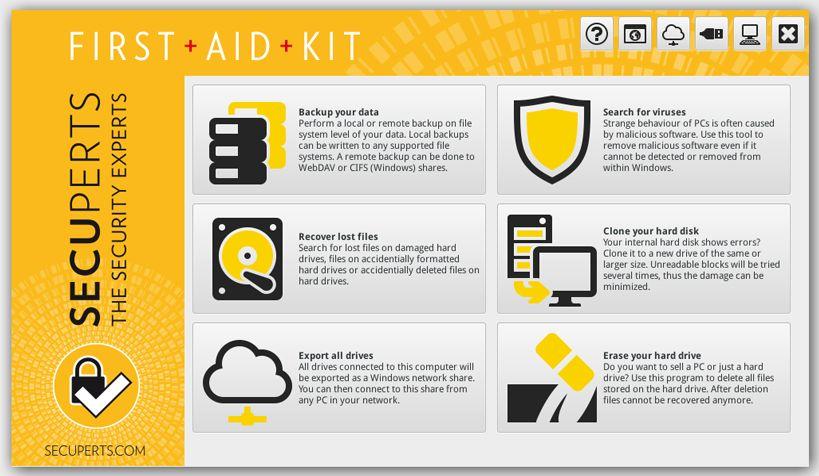 SecuPerts First Aid: Аварийная система с досадными недочетами