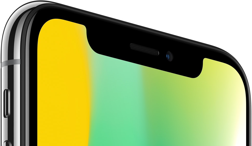 Дисплей iPhone X должен отображать цвета блестяще и нейтрально.