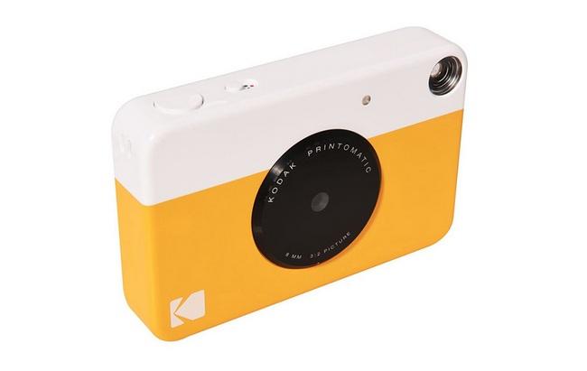 Kodak представила новую камеру мгновенной печати Printomatic