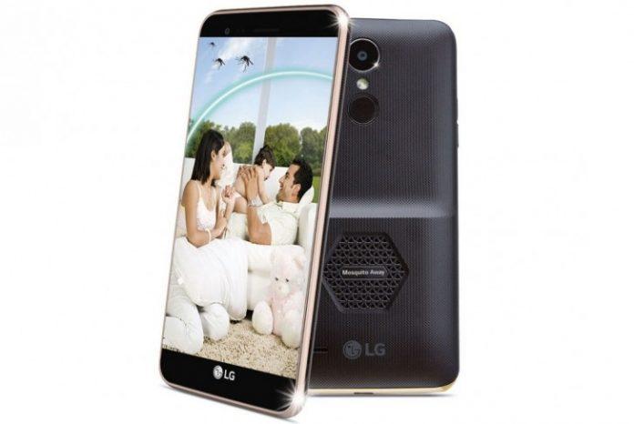 LG выпустила смартфон умеющий отпугивать комаров