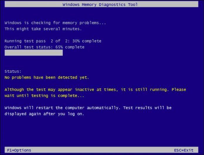 Windows 8: проверяем оперативную память на наличие ошибок