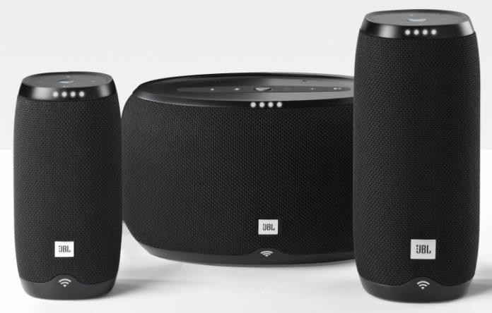 JBL представила сразу три умные колонки с голосовым помощником Google Assistant