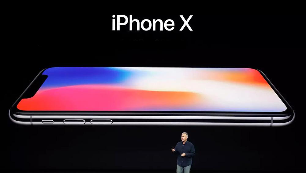 Революционный для соотношения экрана и корпуса iPhone внешний вид: так (безрамочно) выглядит iPhone X.