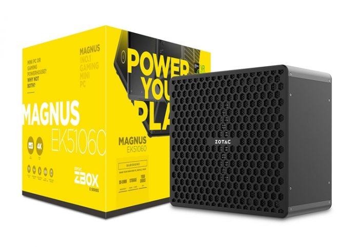 ZOTAC представила геймерские мини-ПК ZBOX Magnus