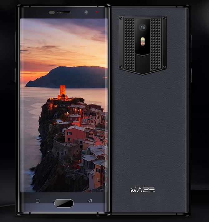 Противоударный смартфон Maze Comet способен пережить падение с 2 метров