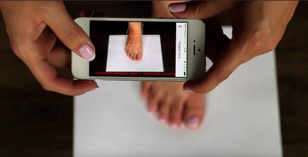 Примерить обувь через смартфон – теперь это возможно