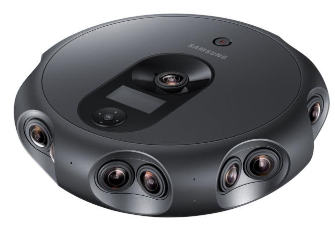 17 объективов и 6 микрофонов — Samsung представила новую панорамную камеру