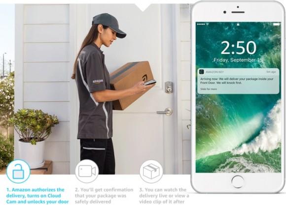 Amazon впустит курьера в дом, когда вас там нет