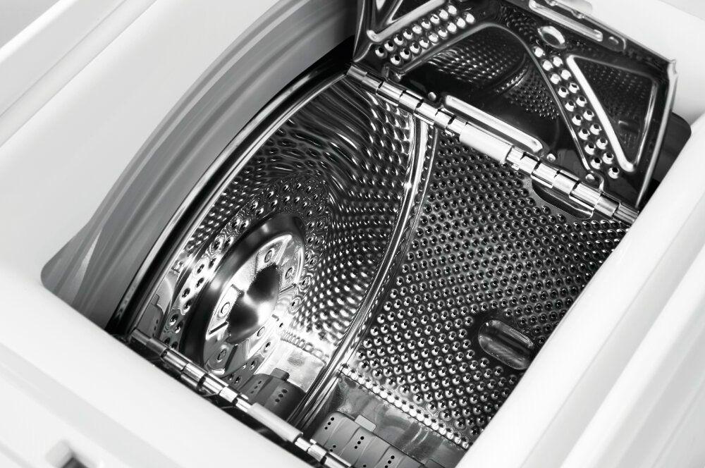крепление барабана в стиральной машине обеспечивает хорошую устойчивость при отжиме