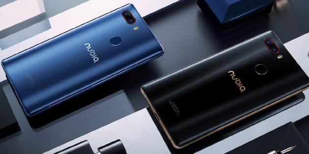 Флагманский смартфон с четырьмя камерами Nubia Z17S представлен официально