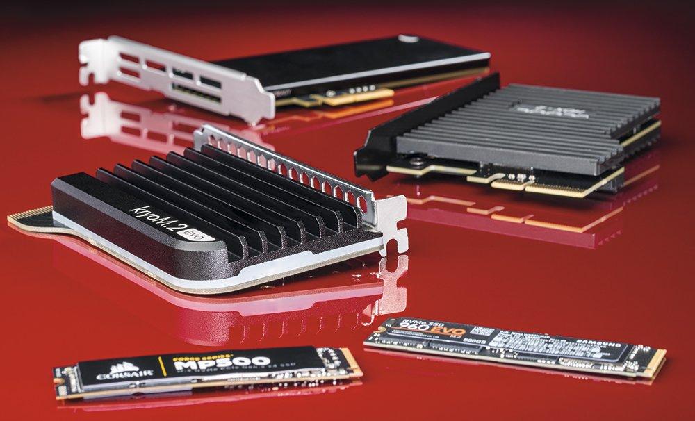 Охлаждение для SSD-накопителей