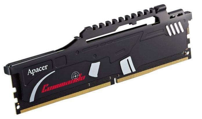 Apacer представила геймерскую оперативную память, стилизованную под штурмовую винтовку