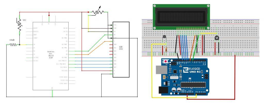 Arduino: настраиваем LCD и делаем метеостанцию