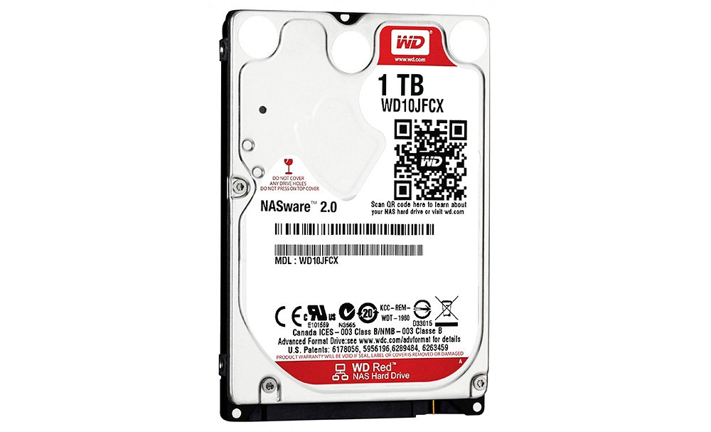 Western Digital Red 1TB (WD10JFCX)