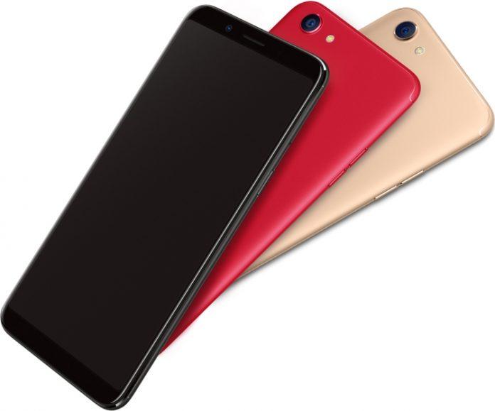 Смартфон Oppo F5 получил мощный восьмиядерный процессор