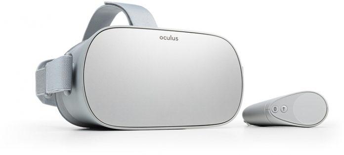 Представлен автономный шлем виртуальной реальности Oculus Go