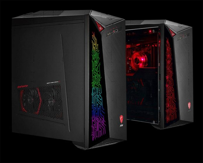 MSI представила мощный игровой ПК Infinite X