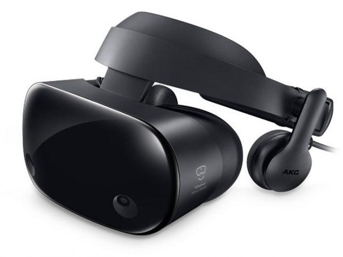 Microsoft рассекретила новый шлем смешанной реальности Samsung Odyssey