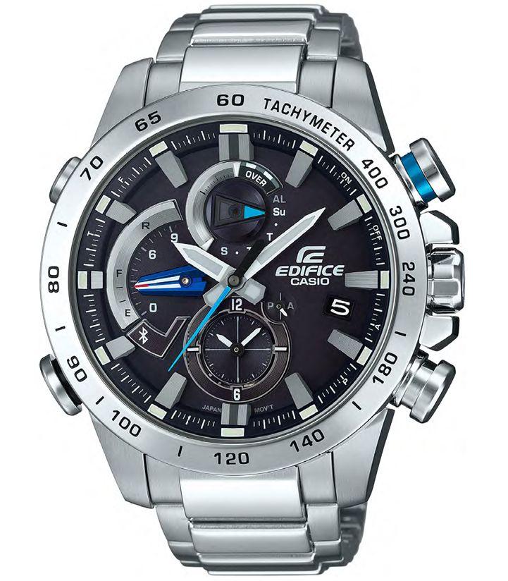 Casio представила умные часы Edifice в духе автогонок