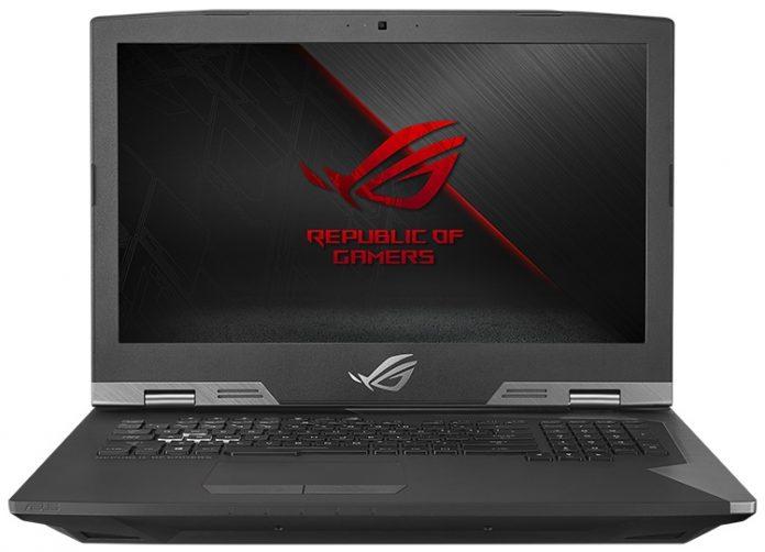 Мощный игровой ноутбук ASUS ROG G703 «Chimera» поддерживает разгон