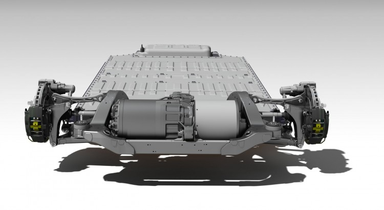 Электродвигатель Tesla