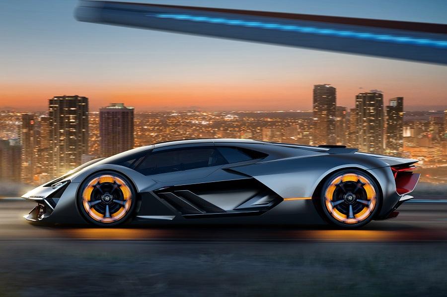Lamborghini атакует Tesla: электромобиль с четырьмя моторами