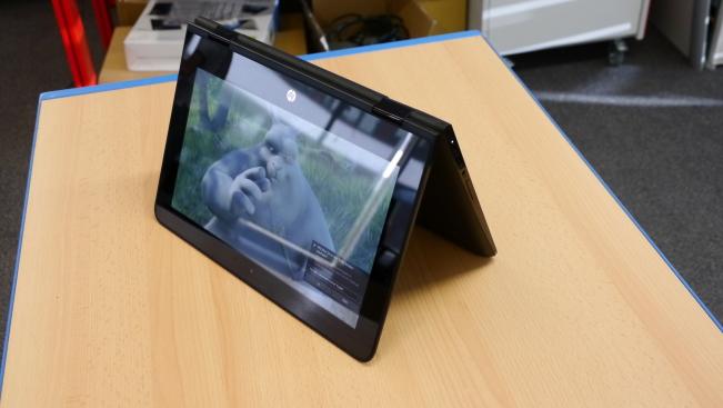 Тест и обзор трансформера HP x360 11-ab004ng