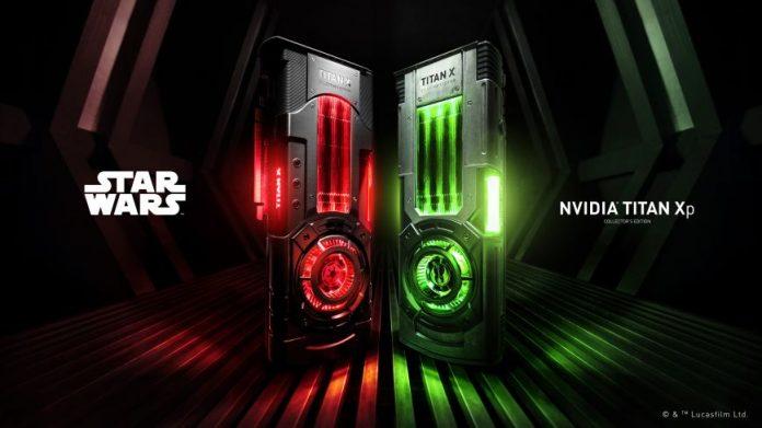 NVIDIA выпустила видеокарты Titan Xp для джедаев и сторонников Империи