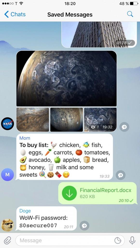 Telegram пережил масштабное обновление
