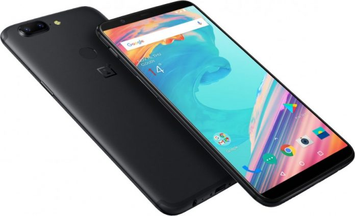 Безрамочный смартфон Oneplus 5T представлен официально