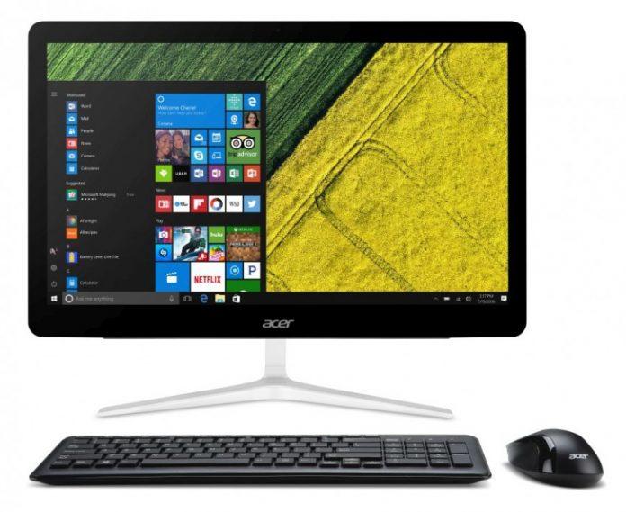 Начались российские продажи моноблока Acer Aspire Z24