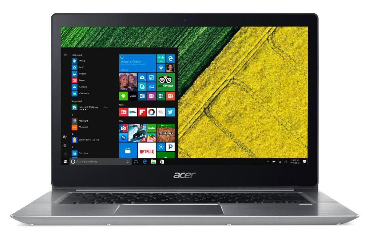 Тест и обзор ноутбука Acer Swift 3 SF315-51G: Монстр производительности