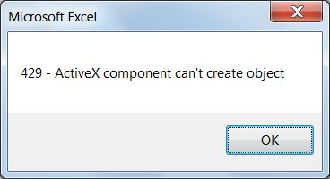 Исправление ошибок ActiveX.Часто причины ошибок ActiveX выявляются в коде Visual Basic.
