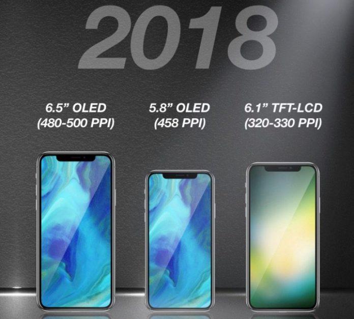 В следующем году Apple может выпустить три новых iPhone