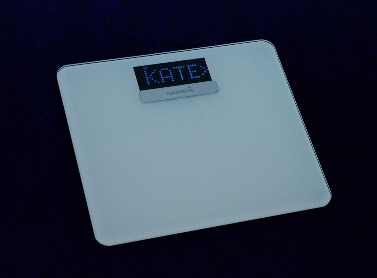 Garmin smart scale