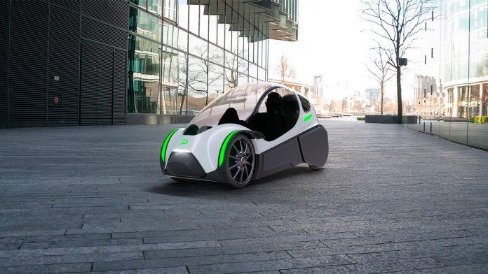 Podbike — забавный гибрид электромобиля и велосипеда