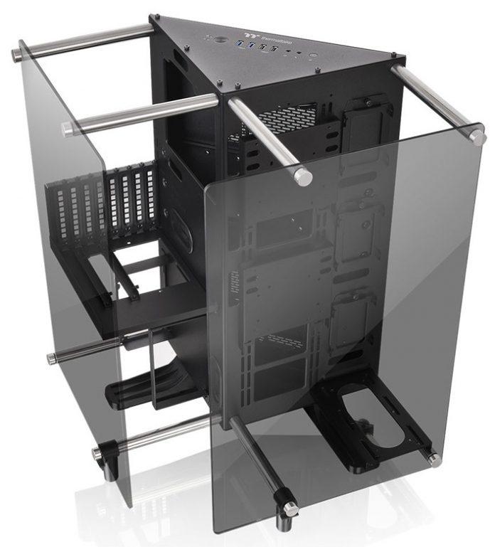 Thermaltake представила необычный корпус в форме призмы