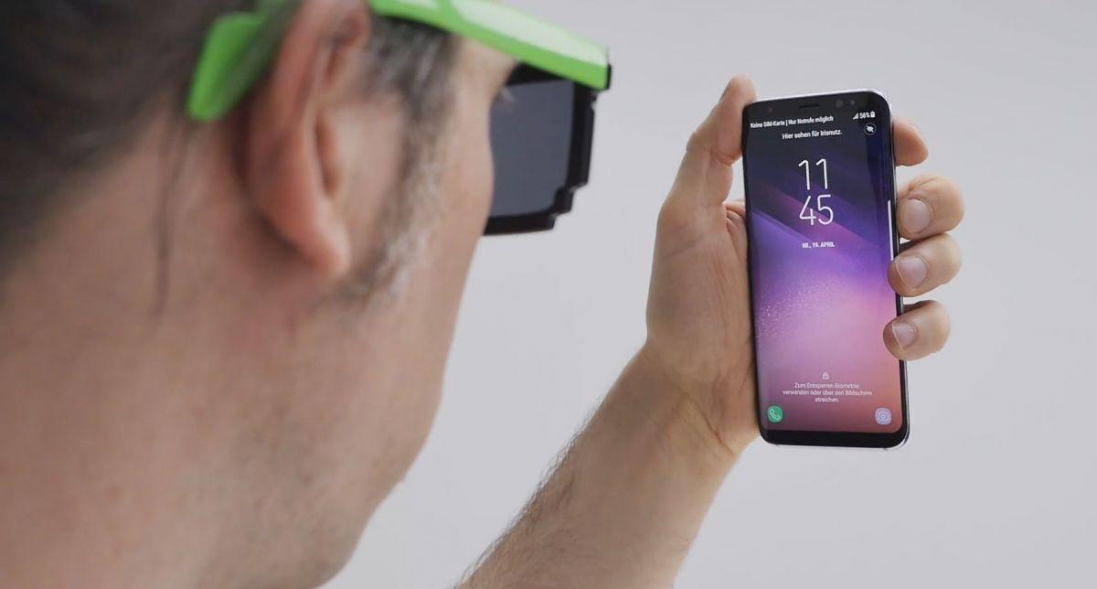 Новые методы разблокировки у Galaxy S8: настолько хорошо работает технология распознавания лиц и сканер радужной оболочки глаза