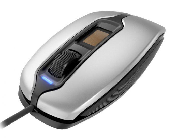 Представлена мышь со сканером отпечатков пальцев