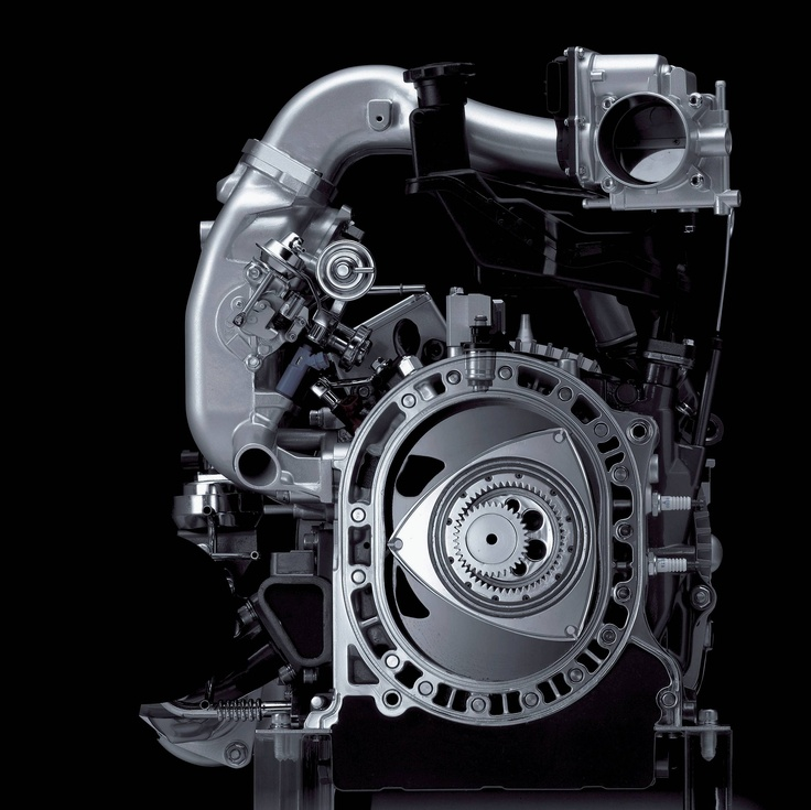 Концерн Мазда разрабатывает электромобиль сроторным мотором