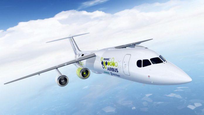 Rolls-Royce, Airbus и Siemens совместными усилиями создадут гибридный самолет