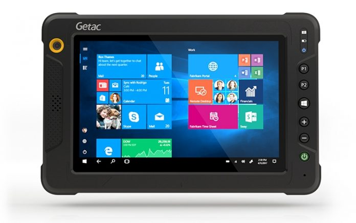 Защищенный планшет Getac EX80 не боится ничего