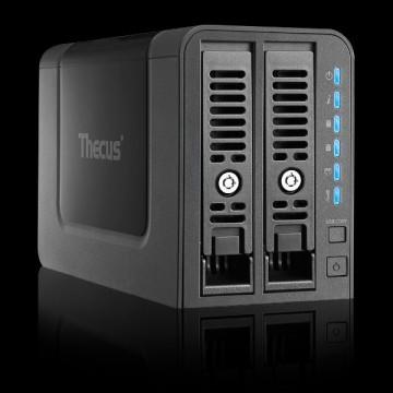 Мини-тест NAS-системы Thecus N2350