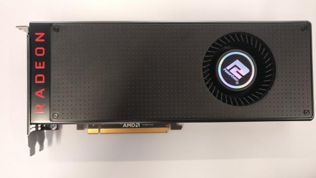 Мини-тест видеокарты PowerColor Radeon RX Vega 64 8GB HBM2