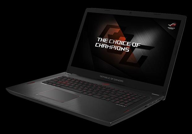 Игровой ноутбук Asus ROG Strix GL702ZC получил процессор AMD Ryzen 7 1700