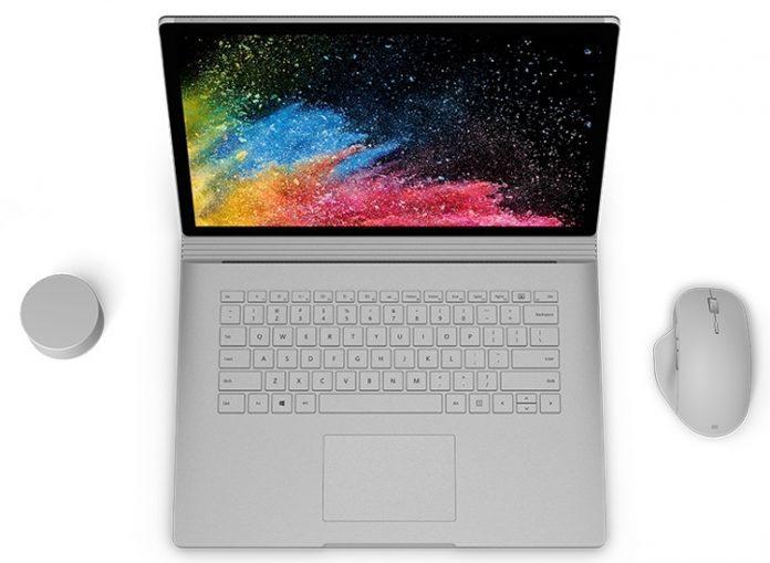 Ноутбуки Microsoft Surface Book 2 могут разряжаться вовремя зарядки