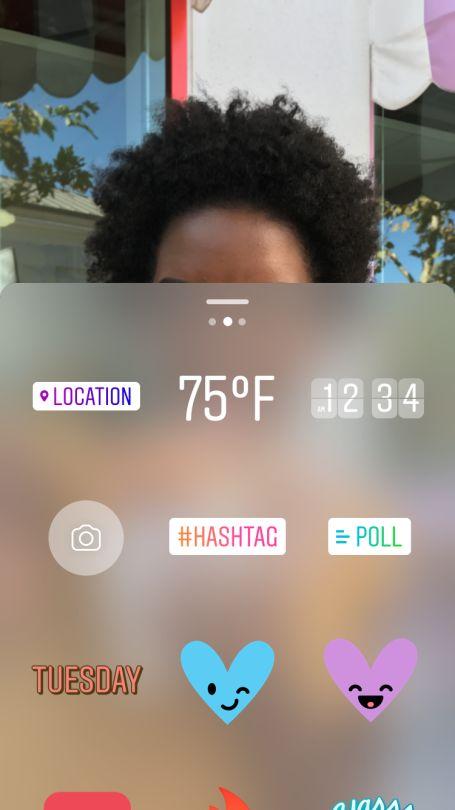 Опрос в Instagram